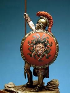 hoplita griego defensor de la polis 171 adrianapolis